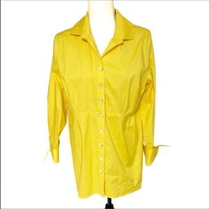 50% off Soft Surroundings Yellow Tunic, Size Med